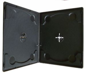 7mm Double Half DVD Cases ( Pack of 100 )